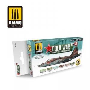 AMMO of Mig Jimenez 7239 COLD WAR VOL. 2 SOVIET FIGHTER-BOMBERS SET 6x17ml