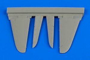 Aires 7336 A6M2 Zero control surfaces 1/72 Tamiya