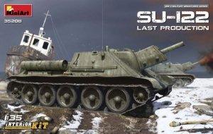 MiniArt 35208 SU-122 Last Production (1:35)