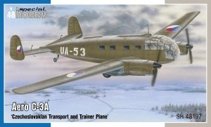 Special Hobby 48197 Aero C-3A 'Czechoslovakian Transport and Trainer Plane' 1/48
