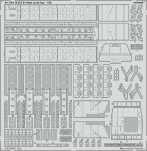 Eduard 481004 B-26B Invader bomb bay for ICM 1/48