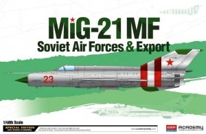 Academy 12311 MIG-21MF Soviet Forces - Export 1/48