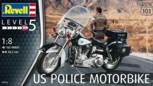 Revell 07915 US Police Motorbike (1:8)