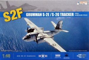 Kinetic K48024 Grumman S-2F S-2E S-2G Tracker (1:48)