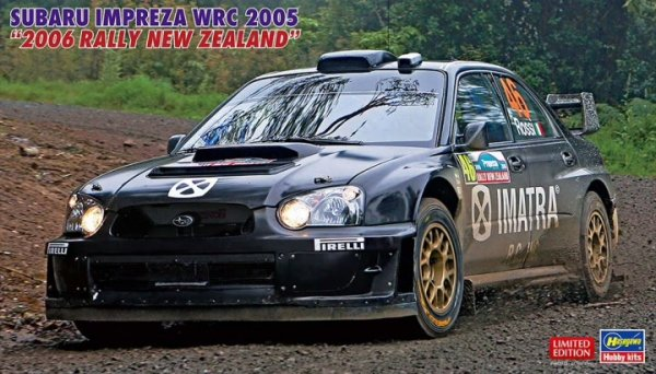 "Hasegawa 20506 Subaru Impreza WRC 2005 ""2006 Rally New Zealand"" 1/24"