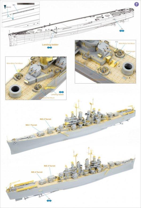 Very Fire VF350920DX USS Cleveland CL-55 DX Version 1/350