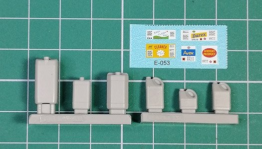 EUREKA XXL E-053 Plastic containers for chemicals 1/35