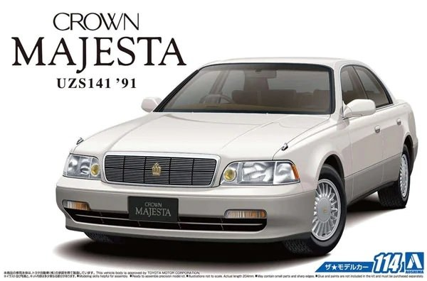 Aoshima 05751 Crown Majesta UZS141 '91 1/24