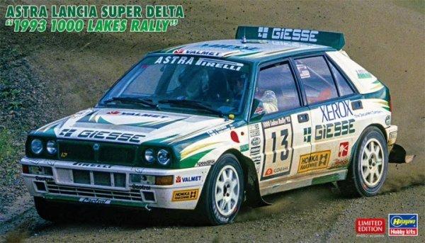 "Hasegawa 20507 Astra Lancia Super Delta ""1993 1000 Lakes Rally"" 1/24"