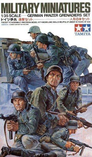 Tamiya 35061 German Panzer Grenadiers (1:35)