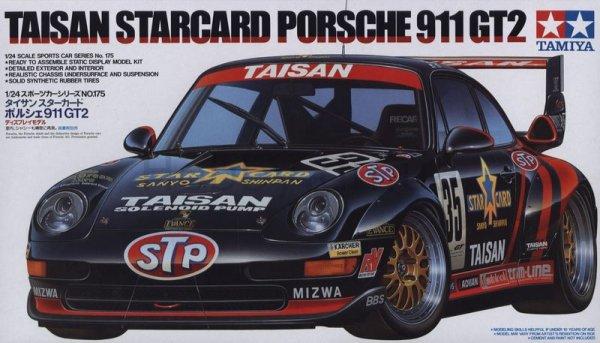 Tamiya 24175 Taisan Starcard Porsche 911 GT2 (1:24)