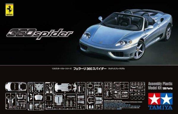 Tamiya 24307 Ferrari 360 Spider (1:24)