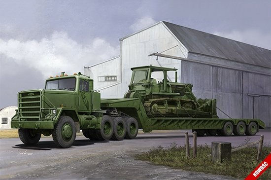 M920 Tractor tow with M870A1 semitrailer