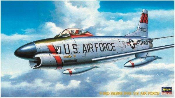 "Hasegawa BP5 (51405) F-86D Sabre Dog ""U.S. Air Force"" 1/72"