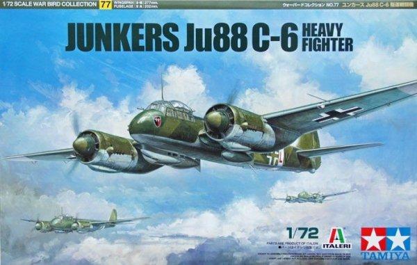Tamiya 60777 Junkers Ju88 C-6 Heavy Fighter (1:72)