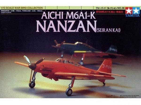 Tamiya 60738 Aichi M6A1-K Nanzan (Seiran Kai) (1:72)