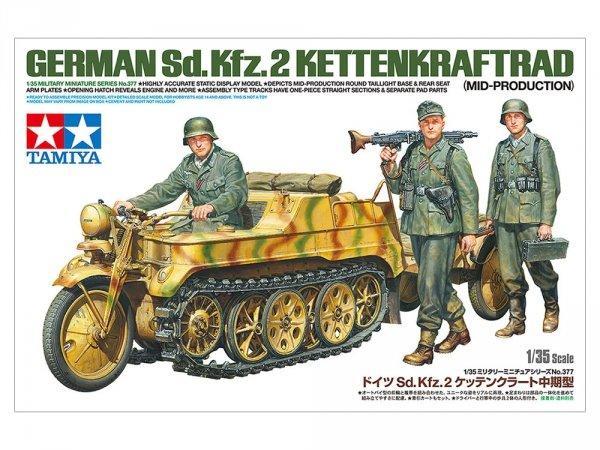 Tamiya 35377 German Sd.Kfz.2 Kettenkraftrad Mid-Production 1/35