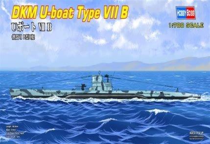 Hobby Boss 87008 German U-boat Type Ⅶ B 1/700