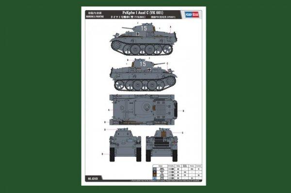 Hobby Boss 82431 PzKpfw I Ausf C (VK 601) (1:35)