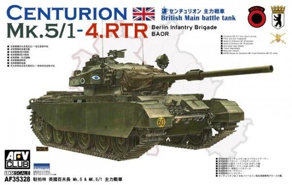 AFV Club AF35328 British MBT Centurion MK.5/1-4.RTR Berlin Infantry Brigade (BAOR) 1/35
