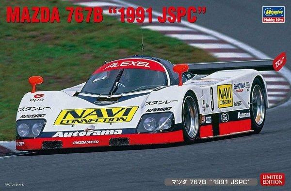 """Hasegawa 20421 Mazda 767B """"1991 JSPC"""" 1/24"""