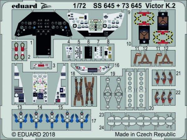 Eduard SS645 Victor K.2 1/72 AIRFIX