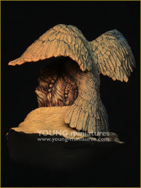 Young Miniatures YH1862 RAVEN SORCERER  1/10