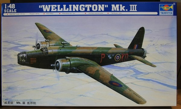 Trumpeter 02823 WELLINGTON Mk.III (1:48)