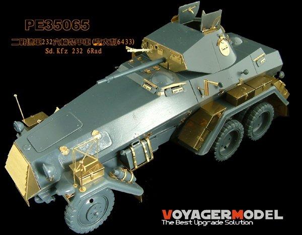 Voyager Model PE35065 Update Set Sd.Kfz. 232 6-Rad Armored Car for Italeri 1/35
