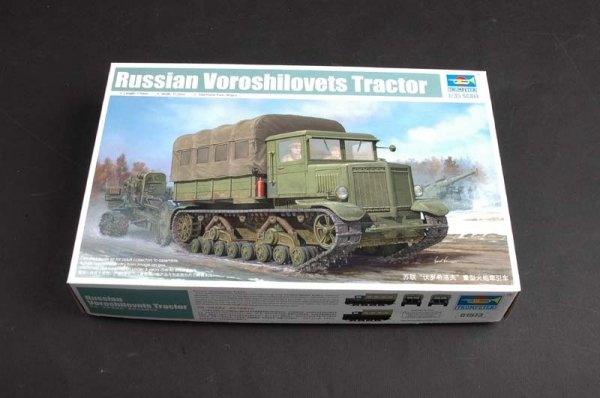 Trumpeter 01573 Voroshilovets Tractor (1:35)