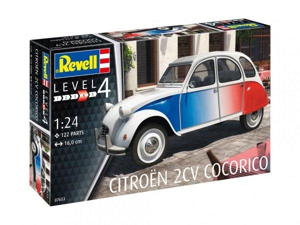 Revell 07653 Citroën 2 CV Cocorico 1/24