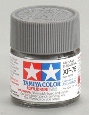 Tamiya XF75 IJN Gray (Kure Arsenal) (81775) Acrylic paint 10ml