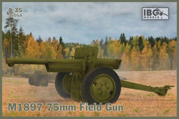 IBG 35058 M1897 75mm French Field Gun 1/35
