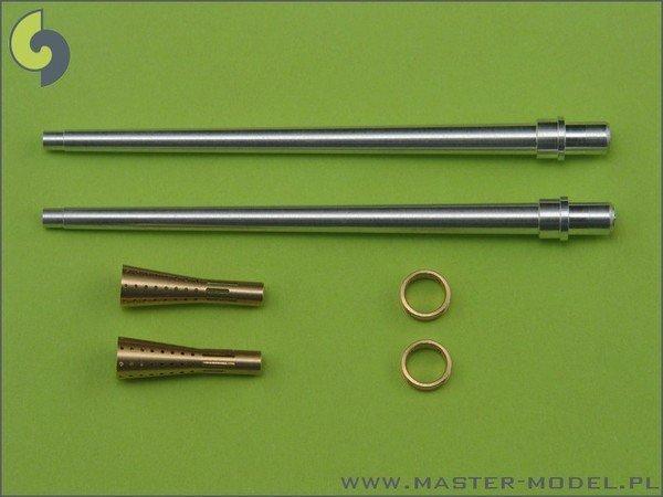 Master AM-32-014 German aircraft cannon 3,7cm Flak 18 gun barrels (2pcs) (1:32)