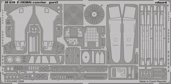 Eduard 48610 F-105D/ G exterior 1/48 HOBBY BOSS