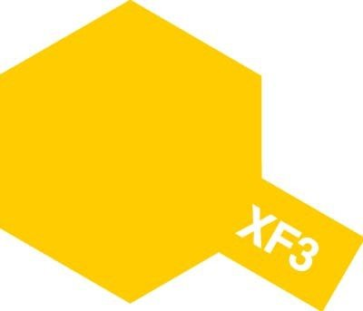 Tamiya XF3 Flat Yellow (81703) Acrylic paint 10ml