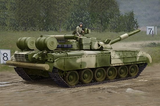 Trumpeter 09581 Russian T-80UD MBT - Early 1/35