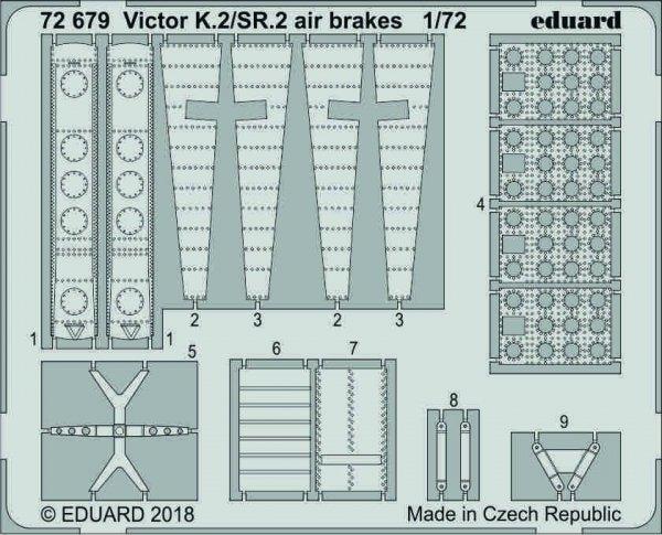 Eduard 72679 Victor K.2/ SR.2 airbrakes 1/72 AIRFIX