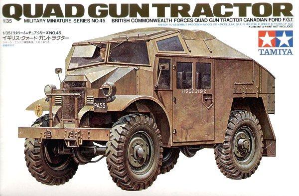Tamiya 35045 British Quad Gun Tractor (1:35)