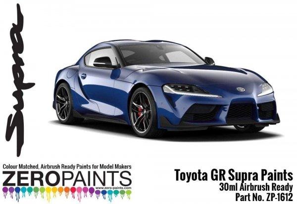 Zero Paints ZP-1612-DBLUE Toyota GR Supra Deep Blue Paint 30ml