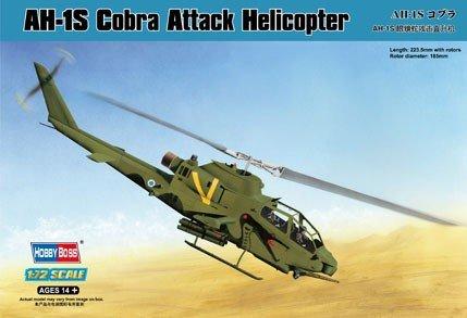 Hobby Boss 87225 AH-1S Cobra Attack Helicopter (1:72)