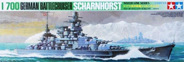 Tamiya 77518 Scharnhorst (German) 1/700