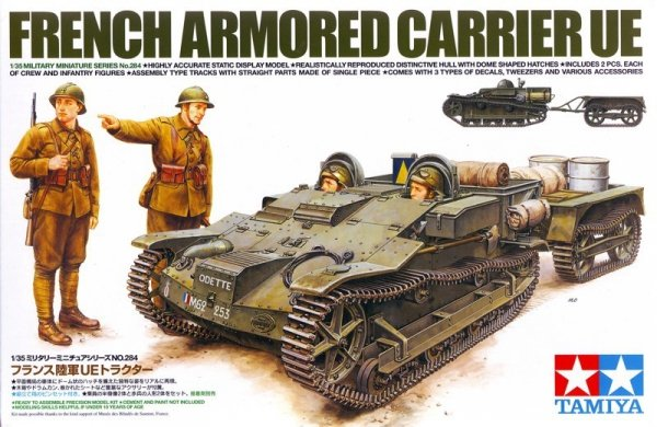 Tamiya 35284 French Armored Carrier UE (1:35)