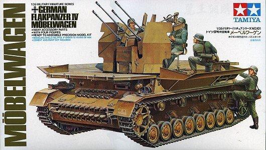 Tamiya 35101 Flakpanzer IV Mobelwagen (1:35)