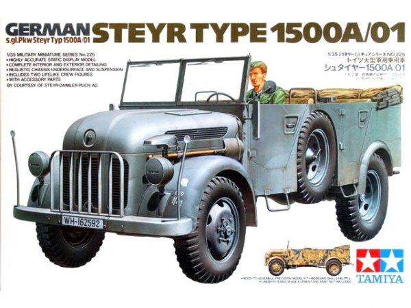 Tamiya 35225 German Steyr Type 1500A/01 (1:35)
