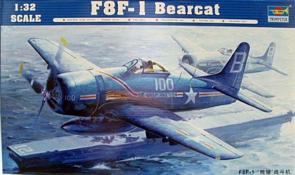 Trumpeter 02247 F8F-1 Bearcat (1:32)