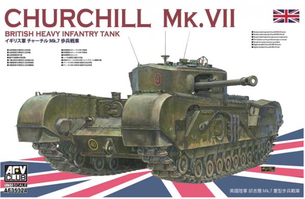 AFV Club AF35324 Churchill MK.VII 1/35