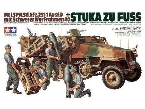 "Tamiya 35151 Sd.Kfz. 251/1 Ausf. D ""Stuka Zu Fuss"" (1:35)"
