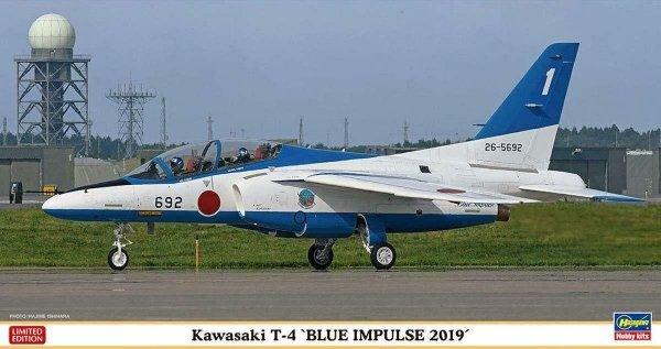 """Hasegawa 07480 Kawasaki T-4 """"Blue Impulse 2019"""" 1/48"""
