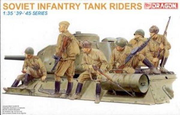Dragon 6197 Soviet Infantry Tank Riders (1:35)